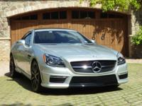 2013 SLK55 AMG Roadster  PERFORMANCE/HANDLING: