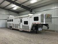 This is a nice 2013 Merhow VeryLite 4 horse 8' wide x