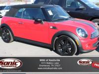 This 2013 Mini Cooper Convertible comes complete with