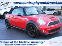 Our 2013 Mini Cooper Convertible S is oh so groovy in