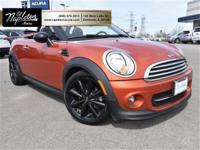 Clean CARFAX, 2013 MINI Cooper FWD, Getrag 6-Speed
