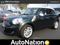 This MINI includes: OXFORD GREEN METALLIC With the