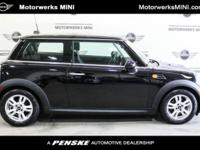 Recent Arrival! CARFAX One-Owner. 2013 MINI Cooper