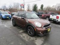 This One Owner 2013 Mini Paceman S All4 AWD has a