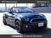 This 2013 MINI Cooper Roadster 2dr 2dr S Convertible