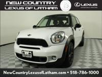 Clean CARFAX. Light White 2013 MINI Cooper S Countryman