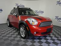 Recent Arrival! 2013 MINI Cooper Countryman Blazing Red