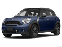 MINI Certified, CARFAX 1-Owner, LOW MILES - 45,092!