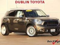 Dublin Toyota is pleased to offer this 2013 MINI Cooper