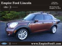 Options:  2013 Mini Countryman Cooper S|Cooper S 4Dr