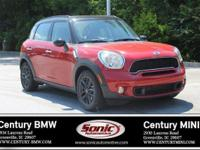 1 Owner,Clean Carfax! 2013 MINI Cooper Countryman S is