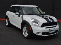 This 2013 MINI Cooper Countryman 4dr S features a 1.6L