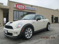 VERY COOL Mini Cooper coupe with better S package.