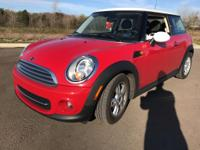 2013 Mini Cooper Chili RedABS brakes, Alloy wheels,