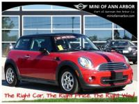 2013 Mini Cooper Hardtop Chili Red CARFAX One-Owner.ABS