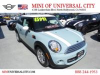 NEW ARRIVAL! MINI of Universal City offers this 2013