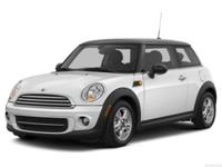 *MOONROOF! *GREAT MILES! *MINI CERTIFIED PRE-OWNED This