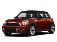 2013 MINI Cooper S FWD Getrag 6-Speed Manual with