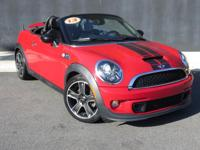 **2013 MINI COOPER S ROADSTER!!**VERY VERY LOW