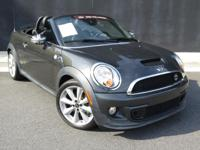 **2013 MINI COOPER S**ROADSTER**6 SPEED MANUAL**VERY