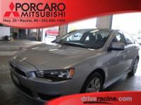Options:  2013 Mitsubishi Lancer Es|Apex Silver