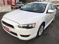 Clean CARFAX. 2013 Mitsubishi LancerIn order to also