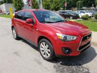 Recent Arrival! Rally Red Metallic 2013 Mitsubishi