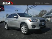 Buy With Confidence!  A few of this Outlander Sport's