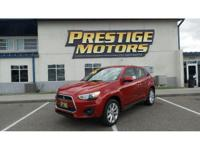 2013 Mitsubishi Outlander Sport ES - Be the talk of the