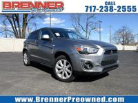 Check out this 2013 Mitsubishi Outlander Sport ES. Its