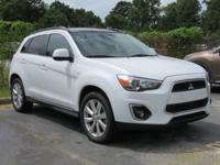 White 2013 Mitsubishi Outlander Sport SE FWD CVT with