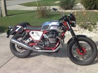 "2013 Moto Guzzi V7 Racer As New""As New"" limited"