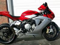 2013 MV Agusta F3 675.I purchased this machine new in