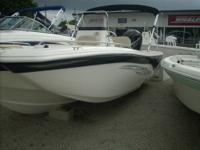 Here is a 2013 NauticStar 210 F/A. It is powered by a