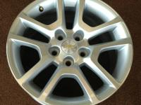 4 NEW take-off 17x8 Chevy Malibu factory wheels.