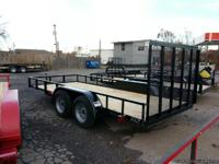 "*2013* NEW 6'4"" x 16' Tandem Axle Utility Trailer ,"