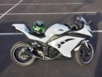 Up for sale is a 2013 Kawasaki Ninja 300 that was