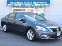 This  Altima 2.5 SV  is a New Arrival at Millennium