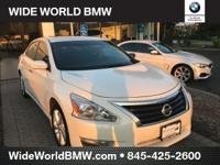 CARFAX One-Owner. Clean CARFAX. Pearl White 2013 Nissan