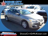 Climb inside the 2013 Nissan Altima! A great car and a