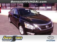 Altima 2.5 SV and 4D Sedan. Nice car! Call us now!