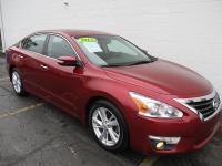 Options:  2013 Nissan Altima 4D Sedan Sl 2.5L|Red|4-Cyl