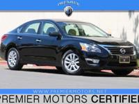 Options:  2013 Nissan Altima 2.5 S Black 2.5L 4