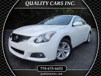 Exterior Color: white, Body: Coupe, Engine: 2.5L I4 16V
