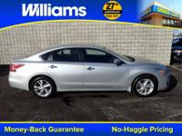 Options:  2013 Nissan Altima 2.5 Sl|Silver|Clean
