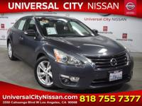 Clean CARFAX. Certified. Blue 2013 Nissan Altima 2.5 SV