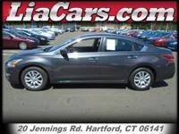 2013 Nissan Altima in Brilliant Silver Metallic. CVT