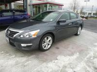 Altima 2.5 SV in Slate Gray. You NEED to see this car!