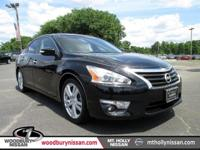 Clean CARFAX. Certified. Super Black 2013 Nissan Altima
