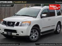 This 2013 Nissan Armada 4dr 2WD 4dr Platinum features a